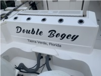 2017 Pursuit S 328 Boat Lettering from Brian G, FL