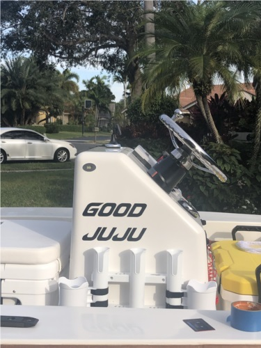 2018 Flats Boat Boat Lettering from Craig L, FL