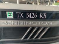 2021 Bennington 22LSR Boat Lettering from Michael U, TX