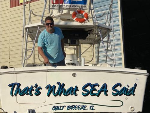 1995 Luhrs 320 Boat Lettering from Lindsay R, FL