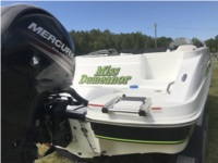 2018 Tahoe 1950 Boat Lettering from Jonathan B, SC