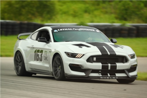 2017 Mustang GT-350 Time trial car Lettering from Eric H, KY