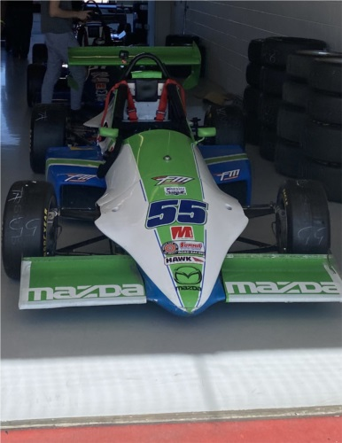 1998 Formula Mazda Formula race car Lettering from Cody T, TX