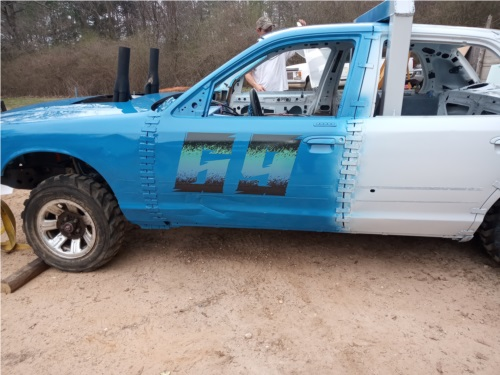 98' Grand Marquis Derby car Lettering from Paul T, AR