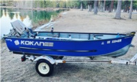 12' Klamath  Boat Lettering from Taylor G, OR