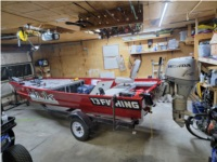 Lake raider Jon boat 16ft Lettering from Matt U, IN