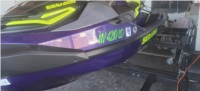 2021 RXT-X300 Sea Doo Lettering from Bryan B, NV