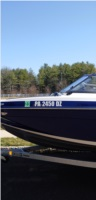 2021 Yamaha 195S  Boat Registration  Lettering from Jeffrey L, PA