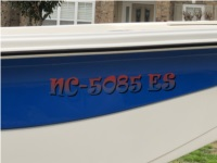 2021 Carolina Skiff 21LS Boat Lettering from Harry H, NC