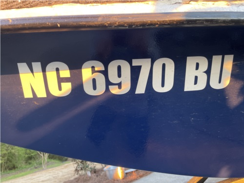 Carolina skiff Boat Lettering from Noah U, NC