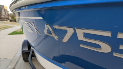 Chaparral SSI Boat Lettering from Terence M, TX