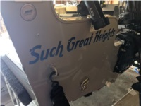 Smoker craft Osprey 162 Boat Lettering from Sara J, OR