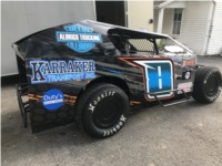 Modlite Racecar  Lettering from Brad N, IL