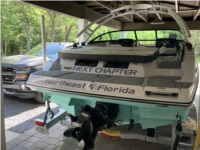2021 Monterey M22 Boat Lettering from Michael E, FL
