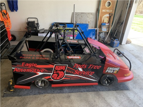 Race car Lettering from Nick P, MI