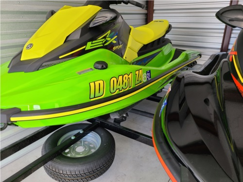 2021 yamaha waverunner ex Personal Watercraft Lettering from Mark S, ID