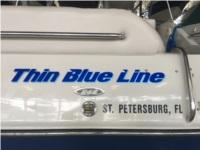 2003 Crownline 262 Cruiser Boat Lettering from Richard C, FL