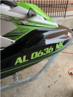 2020 Yamaha EX Deluxe Waverunner Lettering from Jacob B, AL