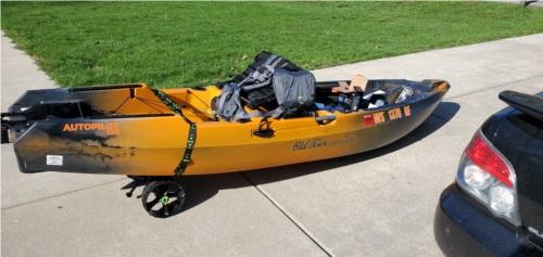 2021 Sportsman's autopilot 120 Kayak Kayak Lettering from Ruben E, WI