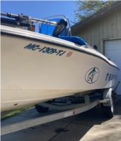 1998 Trophy 17' Center Console Boat Lettering from Andrew T, MI