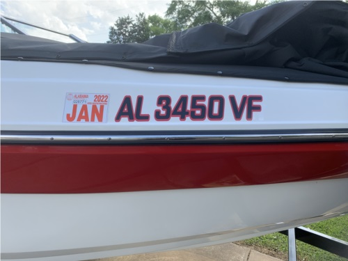 2014 Carsvelle Boat Lettering from Kenneth A, AL