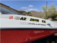 2012 SeaDoo 180 Challenger Boat and Trailer Lettering from Hans-Jurgen G, AZ