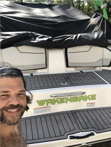 2018 Yamaha 212x Boat Lettering from Eric A, AR