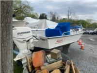 Boston Whaler Boat Lettering from Gail K, NY
