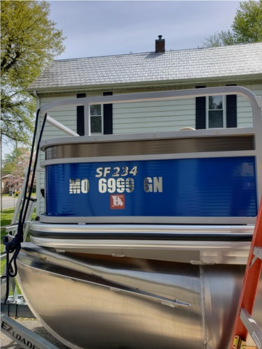 Boat and RV Lettering from David J, MO