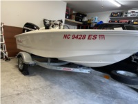Boston Whaler Super Sport 13 Boat Lettering from David R, NC