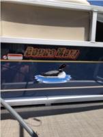 2021 sun tracker bass buggy Boat Lettering from John B, NY