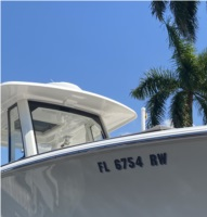 Pursuit S 288 Boat Lettering from David M, FL