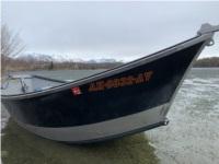 04 willies  Drift boat Lettering from Tyler S, AK