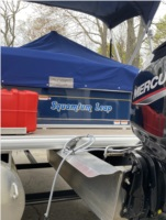 2020 Bass Buggy Pontoon fishing boat Lettering from Rebecca H, MA