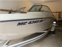 1999 Sea Ray 180 BR Boat Lettering from Jason L, MI