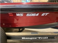 2001 617VS 18' Ranger bass boat Lettering from James C, WI
