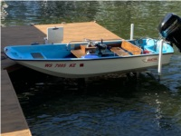 1976 Boston Whaler 13 sport Boat Lettering from Kevin B, WI