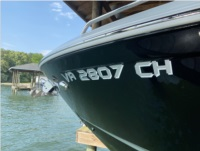 Chap 2021 287ssx Boat Lettering from Garrick S, KY
