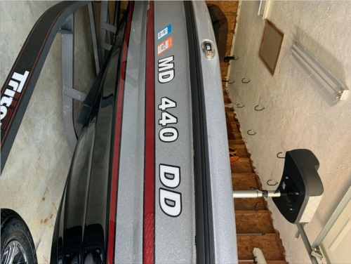 Triton bass boat Lettering from Barbara C, MD
