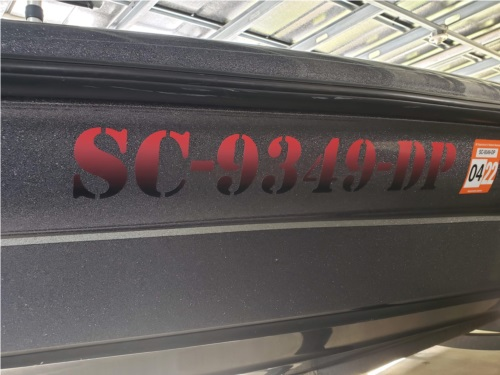 2005 Triton Bass boat Bat Lettering from Don L, SC