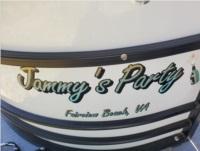2020 Sunchaser Tritoon Boat Lettering from Tammy D, VA