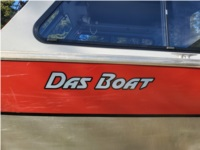 2006 Hewescraft Boat Lettering from Kade F, AK