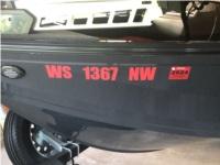 2024 crestliner Boat Lettering from Jesse M, WI