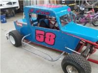Mini Dwarf Race Car Lettering from Jeromy A, CA
