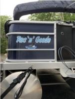 2021 Bennington SX Pontoon boat Lettering from Nancy G, MA