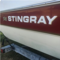 Stingray Replacement Raised Lettering