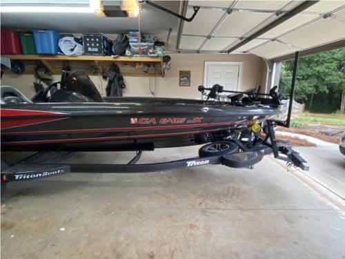 2021  Triton boat Lettering from John B, GA