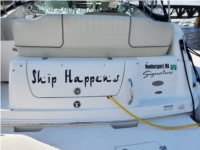2005 Chaparral 240 Signature Boat Lettering from Paul K, MA