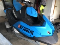 2016 Seadoo Spark Waverunner Lettering from Sean S, NY