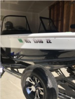 Smokercraft  Boat Lettering from Kristine F, WI
